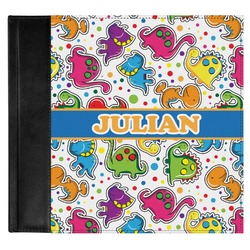 Dinosaur Print Genuine Leather Baby Memory Book (Personalized)