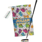 Dinosaur Print Golf Towel Gift Set (Personalized)