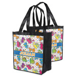 Dinosaur Print Grocery Bag (Personalized)