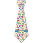 Dinosaur Print Iron On Tie - 4 Sizes w/ Name or Text