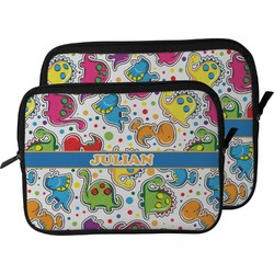 Dinosaur Print Laptop Sleeve / Case (Personalized)