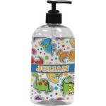 Dinosaur Print Plastic Soap / Lotion Dispenser (Personalized)