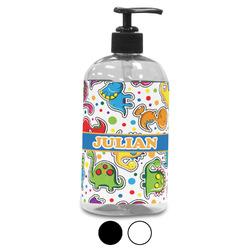 Dinosaur Print Plastic Soap / Lotion Dispenser (Personalized)