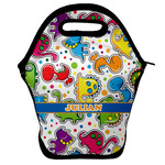 Dinosaur Print Lunch Bag w/ Name or Text