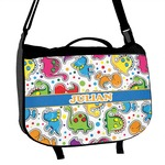 Dinosaur Print Messenger Bag (Personalized)