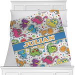 Dinosaur Print Blanket (Personalized)