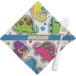 Dinosaur Print Napkins (Set of 4) (Personalized)