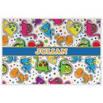 Dinosaur Print Laminated Placemat w/ Name or Text