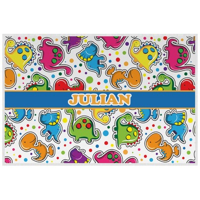 Dinosaur Print Placemat (Laminated) (Personalized)