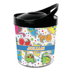 Dinosaur Print Plastic Ice Bucket (Personalized)