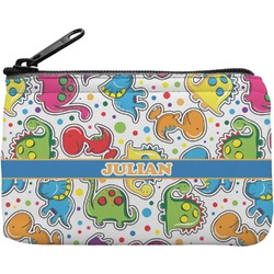 Dinosaur Print Rectangular Coin Purse (Personalized)
