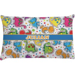 Dinosaur Print Pillow Case (Personalized)
