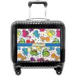 Dinosaur Print Pilot / Flight Suitcase (Personalized)