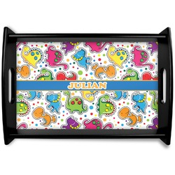 Dinosaur Print Wooden Trays (Personalized)