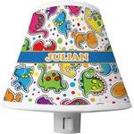 Dinosaur Print Shade Night Light (Personalized)