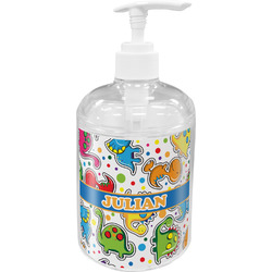 Dinosaur Print Soap / Lotion Dispenser (Personalized)