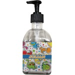 Dinosaur Print Soap/Lotion Dispenser (Glass) (Personalized)