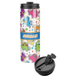 Dinosaur Print Stainless Steel Tumbler (Personalized)
