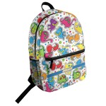 Dinosaur Print Student Backpack (Personalized)