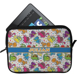 Dinosaur Print Tablet Case / Sleeve (Personalized)