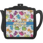 Dinosaur Print Teapot Trivet (Personalized)