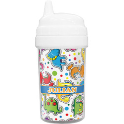 Dinosaur Print Toddler Sippy Cup (Personalized)