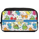 Dinosaur Print Toiletry Bag / Dopp Kit (Personalized)