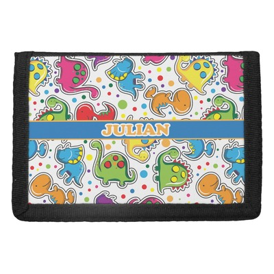 Dinosaur Print Trifold Wallet (Personalized)