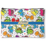 Dinosaur Print Zipper Pouch (Personalized)