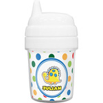 Dots & Dinosaur Baby Sippy Cup (Personalized)