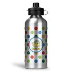 Dots & Dinosaur Water Bottle - Aluminum - 20 oz (Personalized)