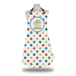 Dots & Dinosaur Apron (Personalized)