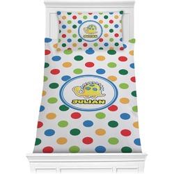 Dots & Dinosaur Comforter Set - Twin XL (Personalized)