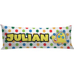 Dots & Dinosaur Body Pillow Case (Personalized)