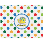 Dots & Dinosaur Placemat (Fabric) (Personalized)