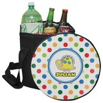 Dots & Dinosaur Collapsible Cooler & Seat (Personalized)