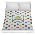 Dots & Dinosaur Comforter (Personalized)