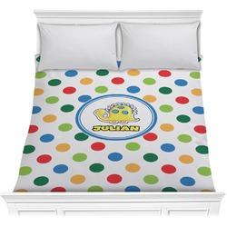 Dots & Dinosaur Comforter (Personalized)