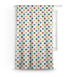 Dots & Dinosaur Curtain (Personalized)