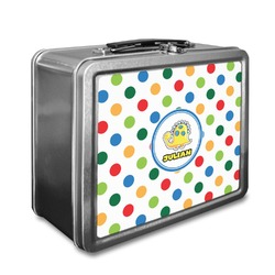 Dots & Dinosaur Lunch Box (Personalized)