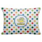 Dots & Dinosaur Decorative Baby Pillowcase - 16