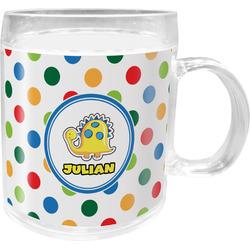 Dots & Dinosaur Acrylic Kids Mug (Personalized)