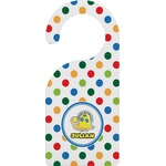 Dots & Dinosaur Door Hanger (Personalized)