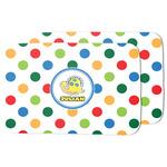 Dots & Dinosaur Dish Drying Mat (Personalized)