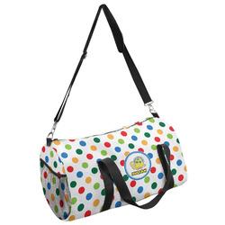 Dots & Dinosaur Duffel Bag - Multiple Sizes (Personalized)