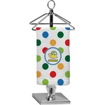Dots & Dinosaur Finger Tip Towel - Full Print (Personalized)