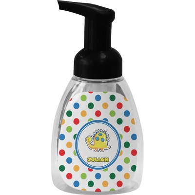 Dots & Dinosaur Foam Soap Dispenser (Personalized)