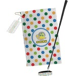 Dots & Dinosaur Golf Towel Gift Set (Personalized)