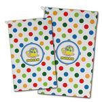 Dots & Dinosaur Golf Towel - Full Print w/ Name or Text