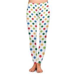 Dots & Dinosaur Ladies Leggings (Personalized)